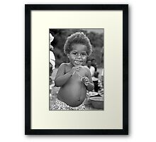 Ni Van Girl Framed Print