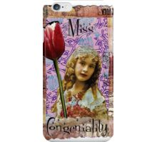 Miss Congenality iPhone Case/Skin