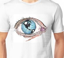 Then One Day, The Earth Was In Her Eye Unisex T-Shirt