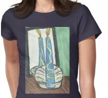 Light One Candle Womens Fitted T-Shirt