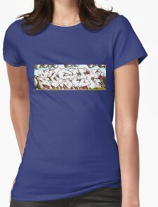 Frankston Graphitti 2 Womens Fitted T-Shirt