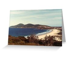 Beach at Forster Greeting Card