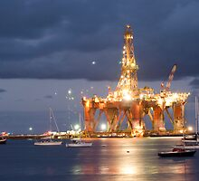 Oil Rig by bettyb