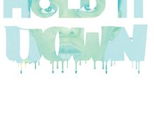 donna goudeau HOLD IT DOWN blue 11 by Harper The Creator .