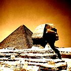 sphinx, Egypt by Cheryl Grover