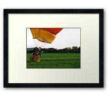Balloon Bouncedown Framed Print