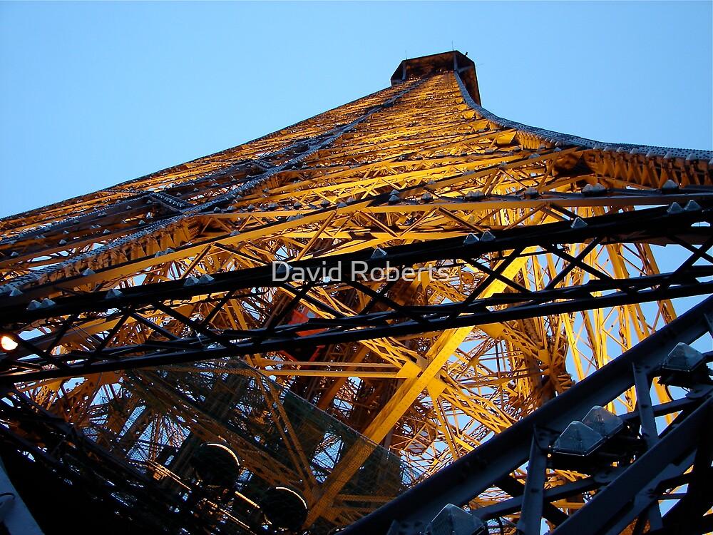 Under Eiffel by David Roberts
