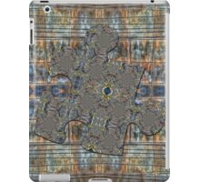 Rusty Grungy Wall with Electric Wires Puzzle Piece iPad Case/Skin
