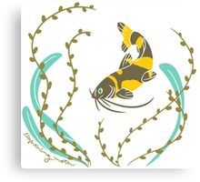 Clever Fish Canvas Print