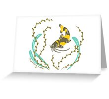 Clever Fish Greeting Card