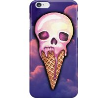 Ice Cream Skull iPhone Case/Skin