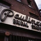 Pauline's Bridal Shop by Randy Bufano