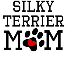 Silky Terrier Mom by kwg2200