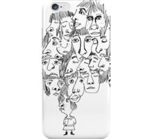 Too many friends on my mind  iPhone Case/Skin