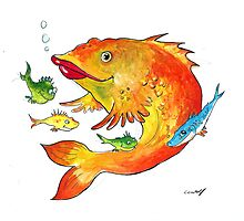 fish by Christiane C. Wolff