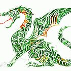 Green Dragon by Christiane C. Wolff