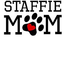 Staffie Mom by kwg2200