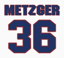 National baseball player Butch Metzger jersey 36 by imsport