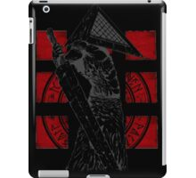 Pyramid Head Tribute (Black Background Only) iPad Case/Skin