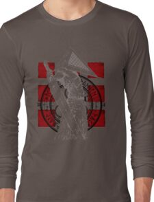 Pyramid Head Tribute (Black Background Only) Long Sleeve T-Shirt