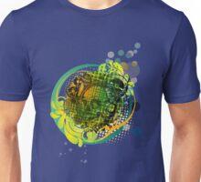 Retro skull musica Unisex T-Shirt