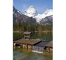 Alpine Lake Photographic Print