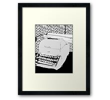 Just your Type  Framed Print