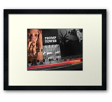 New York Blur Framed Print