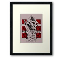 Pyramid Head Tribute Framed Print