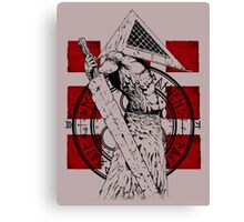 Pyramid Head Tribute Canvas Print