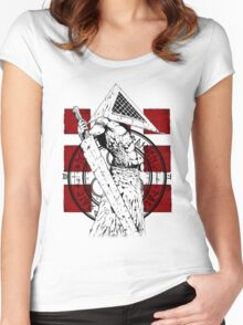 Pyramid Head Tribute Women's Fitted Scoop T-Shirt