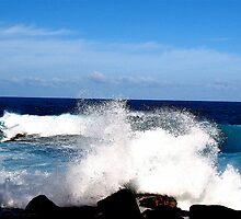 Cobalt Splash by Alvin-San Whaley
