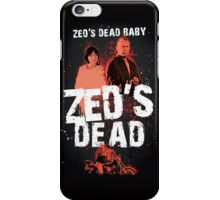 Zed's Dead Baby - Pulp Fiction iPhone Case/Skin