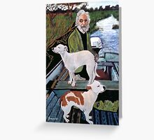 The painting from Goodfellas... Greeting Card