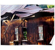 Ramshackle Rolling Roof Poster