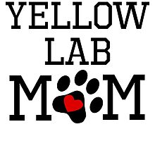 Yellow Lab Mom by kwg2200