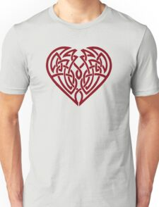 Heart (clear) Unisex T-Shirt