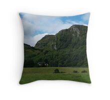 Somewhere in Argyll Throw Pillow