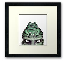 Toads (Misery) Framed Print