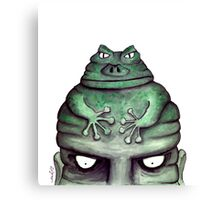 Toads (Misery) Canvas Print