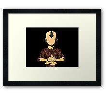 Avatar The Last Airbender Aang Framed Print
