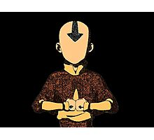 Avatar The Last Airbender Aang Photographic Print