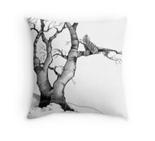 The Branch Improves the View Throw Pillow