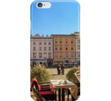 Lazy afternoon in Stare Miasto iPhone Case/Skin