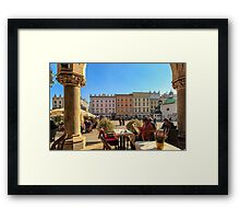Lazy afternoon in Stare Miasto Framed Print