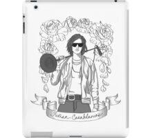 Julian Casablancas (Black & White) iPad Case/Skin
