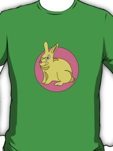 RABBIT BUNNY  PINK  T-Shirt