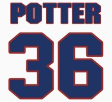 National baseball player Dykes Potter jersey 36 by imsport