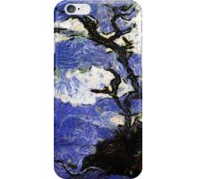 Bay of Gibraltar in the Style of van Gogh - all products bar duvet iPhone Case/Skin