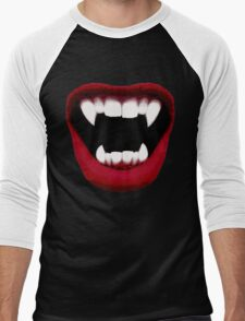 Vampire Smile Men's Baseball ¾ T-Shirt